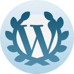 Five year anniversary at WordPress medallion